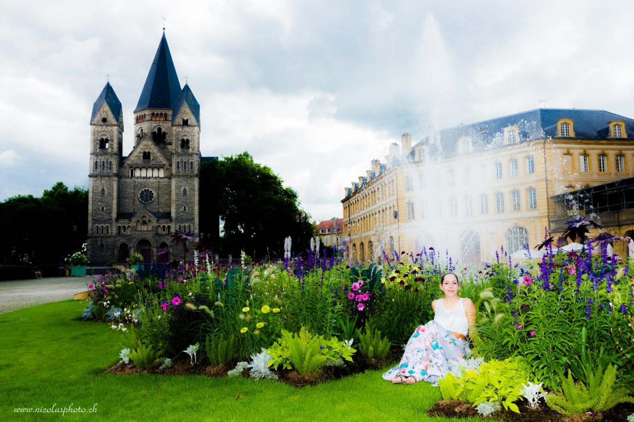 en ville de Metz